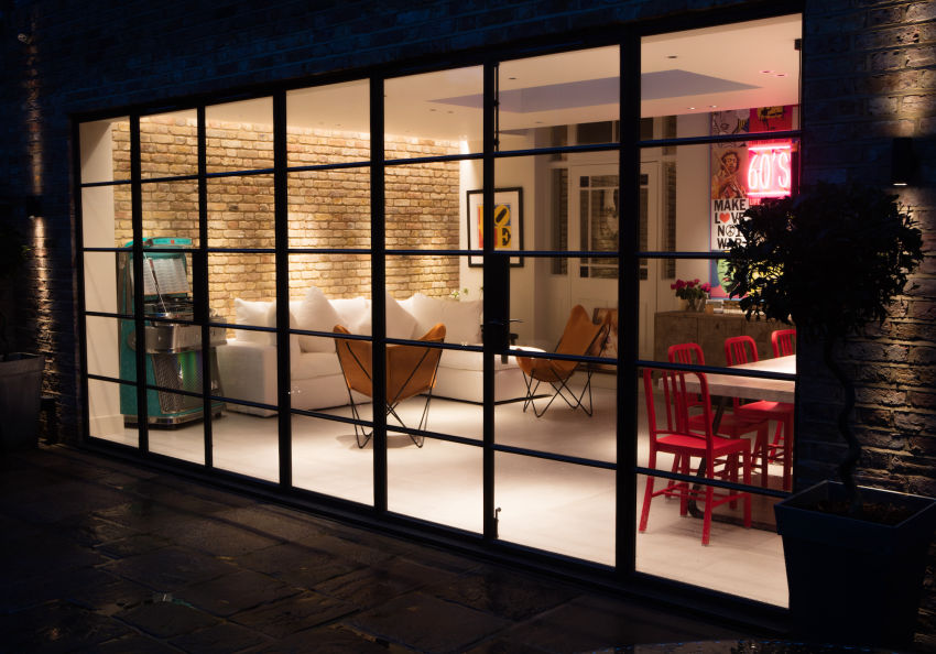 Contemporary Brick Wall Rear House Extension in North West London