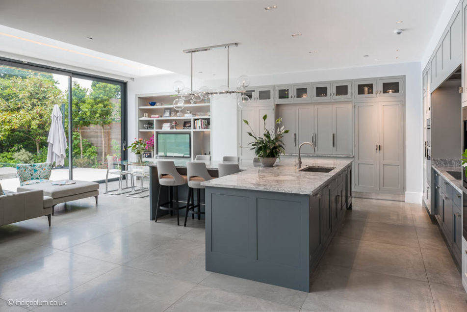 House Extensions Ideas Open Plan with Kitchen Island