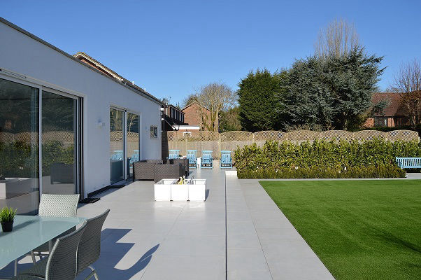 Large rear house extension in Barnet, London