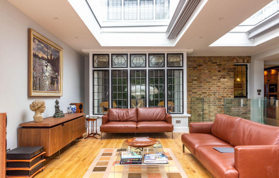 Rebuild or extend and renovate - two storey house extension in North West London