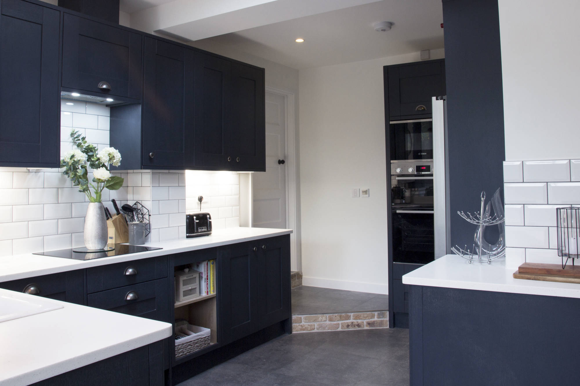 Shaker style kitchen in Welwyn Garden City