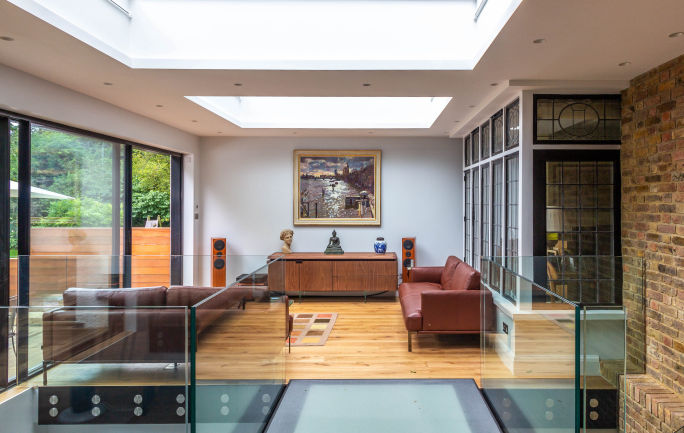 Double storey house extension in North West London