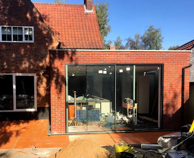 building a kitchen extension